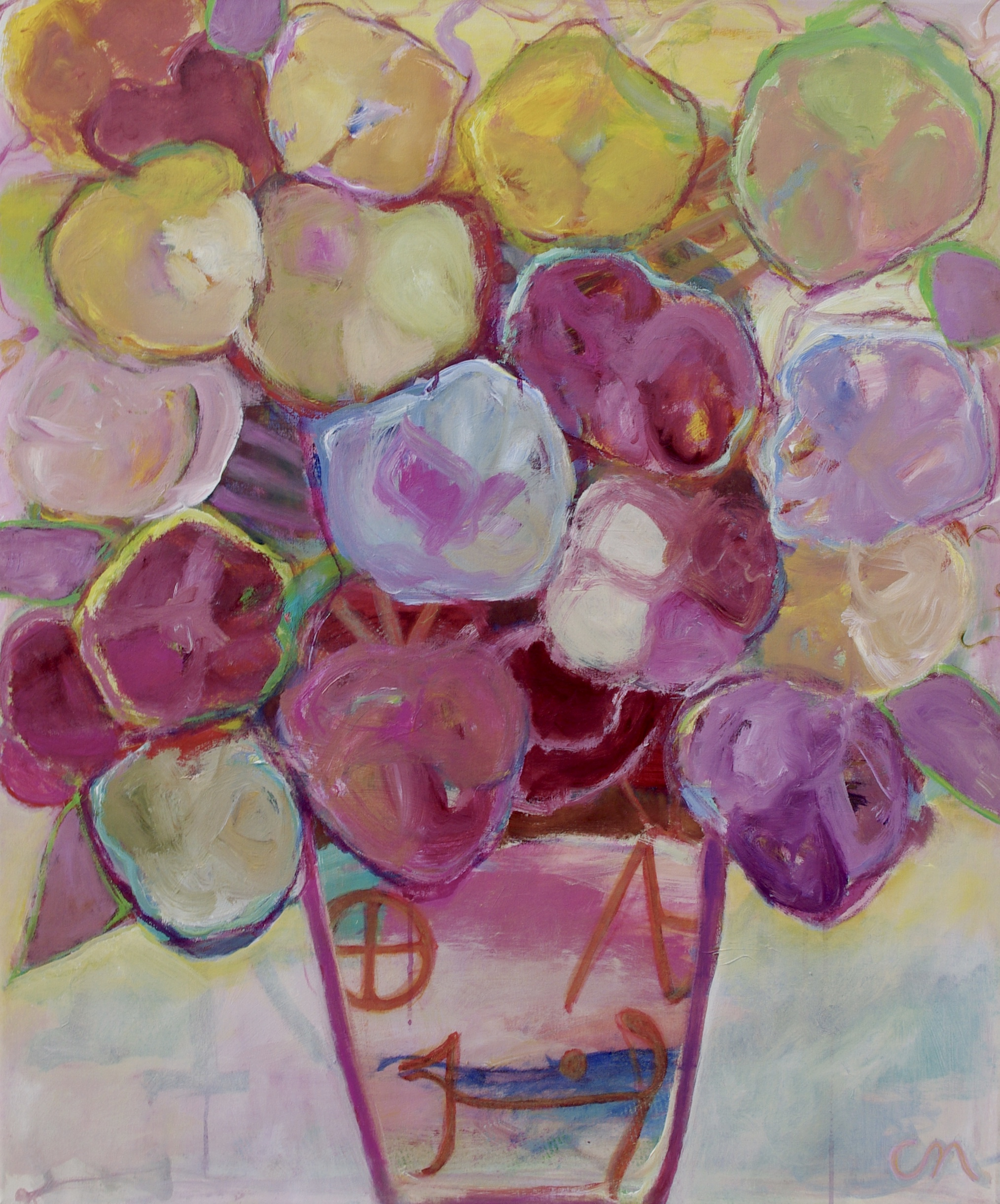 Flowers in May 96x80cm